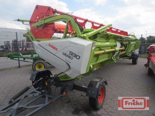 Claas Vario 930 Mit Transportwagen Year of Build 2015 Gyhum-Bockel