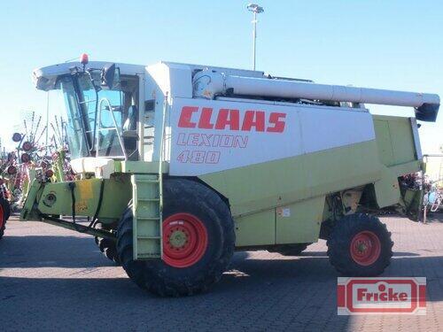 Claas Lexion 480 mit CAC 750