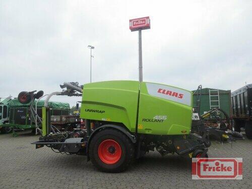 Claas Rollant 455 RC Uniwrap Baujahr 2012 Gyhum-Bockel