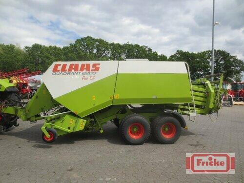 Claas Quadrant 2200 FC anno di costruzione 2007 Gyhum-Bockel