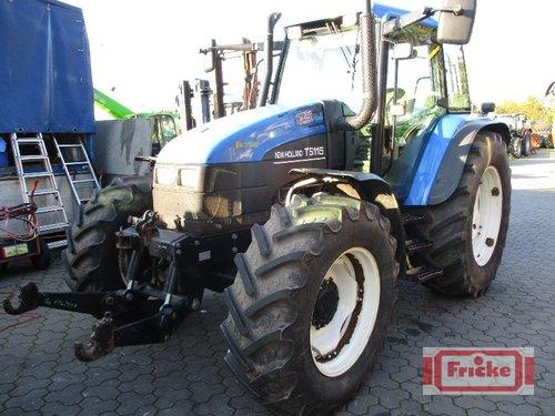New Holland TS 115 Año de fabricación 2002 Gyhum-Bockel