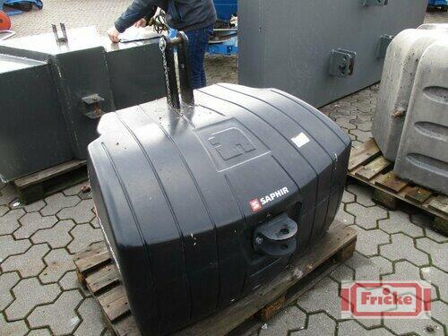 Saphir 1100kg Ng Stahlbetongewicht Gyhum-Bockel