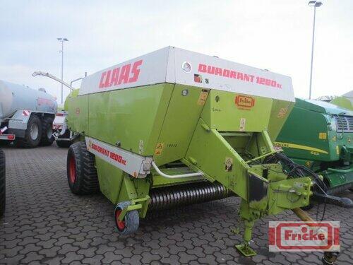 Claas Quadrant 1200 RC Årsmodell 1999 Gyhum-Bockel