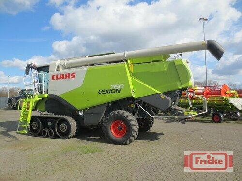 Claas Lexion 760 Terra Trac Bouwjaar 2013 Gyhum-Bockel