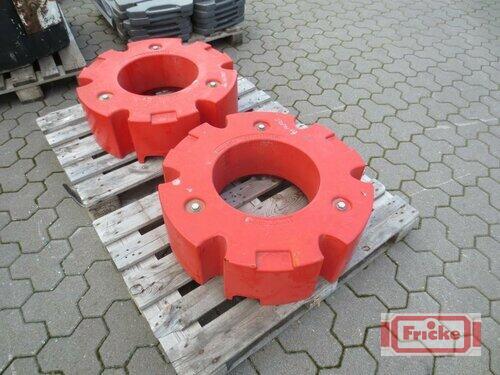 Fendt 600kg Radgewichte Årsmodell 2018 Gyhum-Bockel