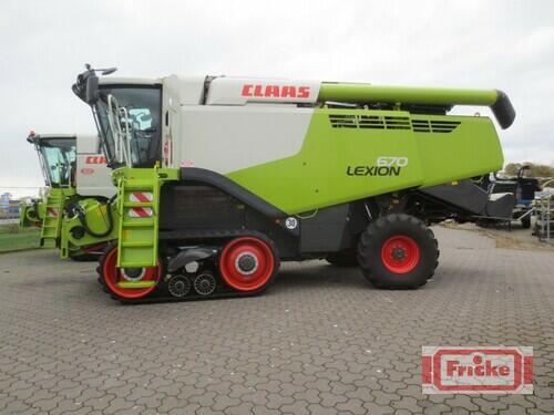 Claas Lexion 670 Terra Trac Bouwjaar 2020 Gyhum-Bockel