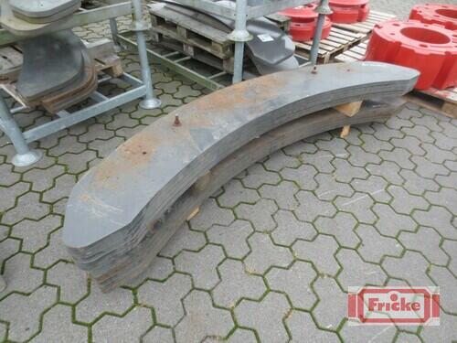 Claas 9 Heckgewichte 170kg Año de fabricación 2020 Gyhum-Bockel