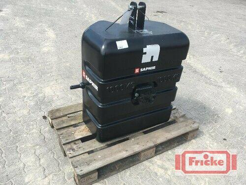 Saphir 1.000 kg Standard **NEU**
