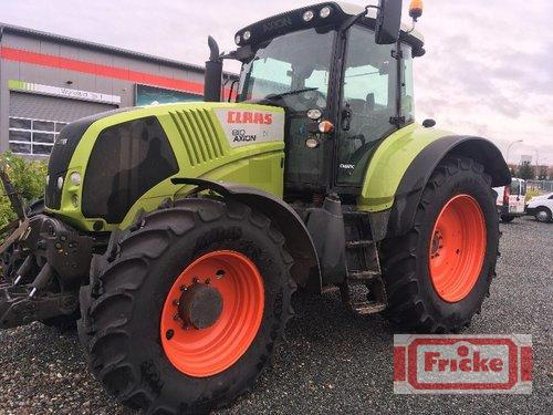 Claas Axion 810 Cmatic Årsmodell 2012 4-hjulsdrift