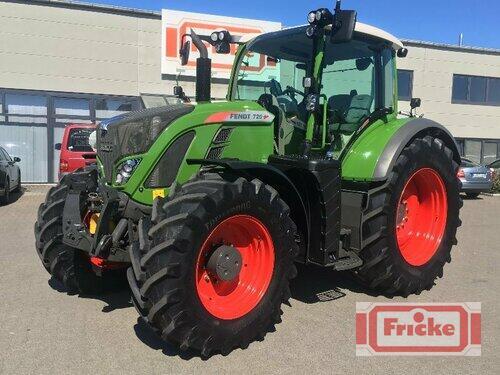 Tractor Fendt - 720 Vario Profi-Plus S4 **FZW**