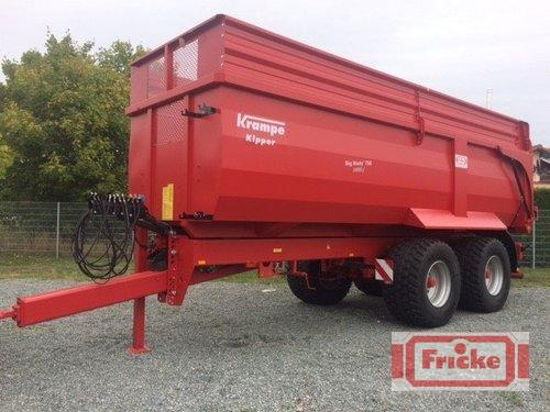 Krampe Big Body 750 Carrier Année de construction 2018 Demmin