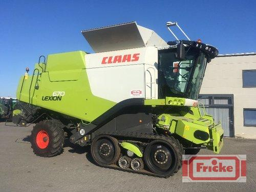 Claas Lexion 670 Terra Trac Year of Build 2015 Demmin