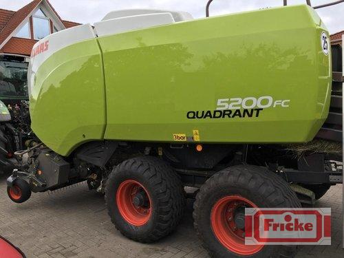 Claas Quadrant 5200 FC Year of Build 2016 Demmin