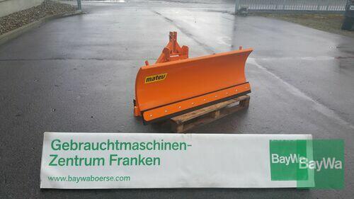 Matev Schneepflug Srm-Fb 160 Rok produkcji 2015 Bamberg