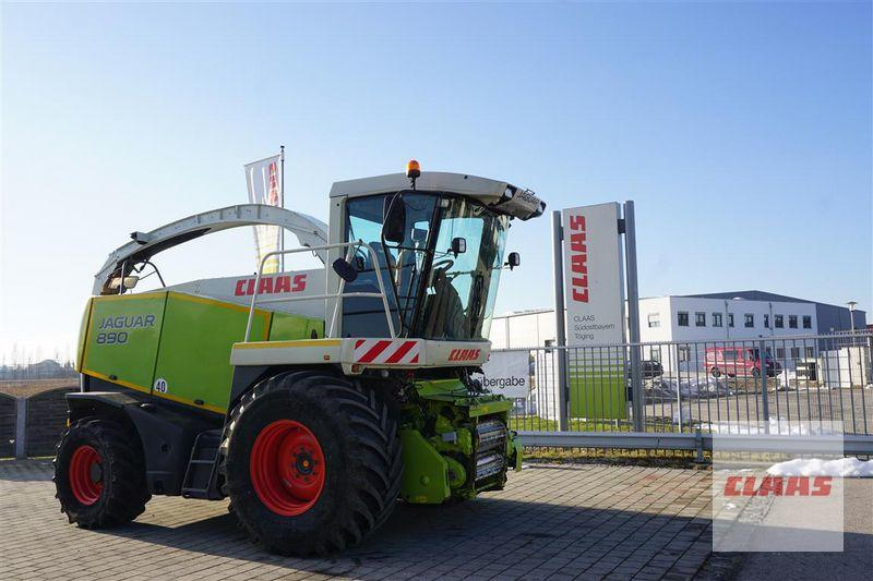 Claas JAGUAR 890 ALLRAD MIT PICK UP