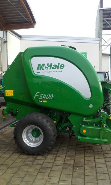 McHale RUNDBALLENPRESSE MCHALE F 5400