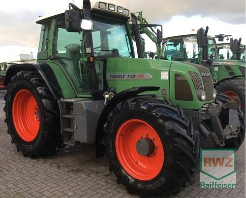 Fendt 712 Vario TMS Year of Build 2007 4WD