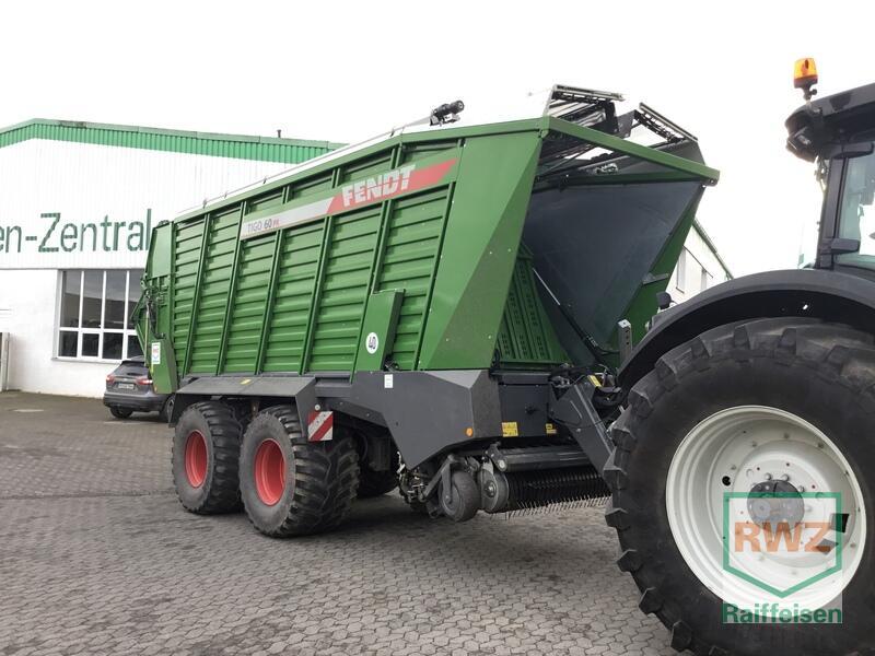 Fendt Ladewagen Tigo 60 PR D