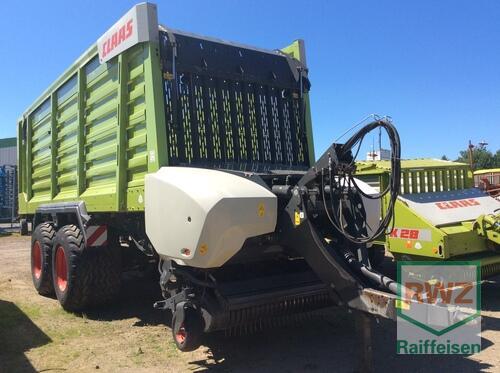 Claas Cargos 8500 anno di costruzione 2014 Kruft