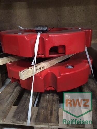 Fendt Belastungsgewicht Hinterräder Année de construction 2019 Wittlich