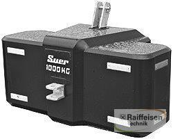 Suer Frontballast Sb 1000 Kg Year of Build 2020 Gnutz
