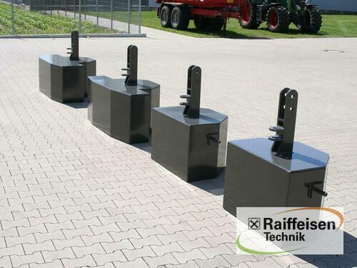 Buschmeier Stahlgewicht 800kg Godina proizvodnje 2020 Gnutz