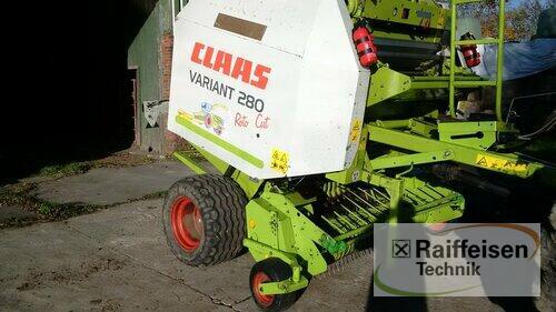 Claas Variant 280 RC Baujahr 2002 Gnutz
