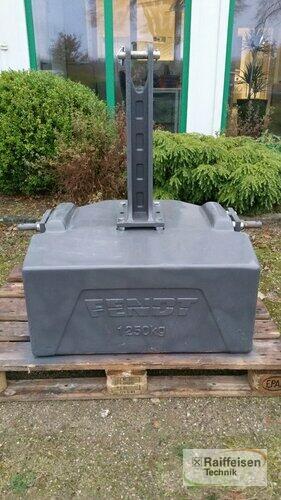 Fendt Belastungsgewicht 1250kg
