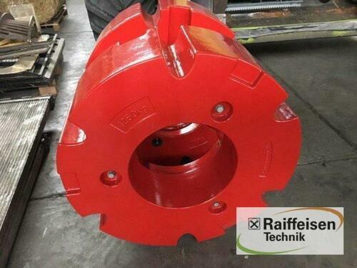 Fendt 2x 600 kg Hinterradgewic