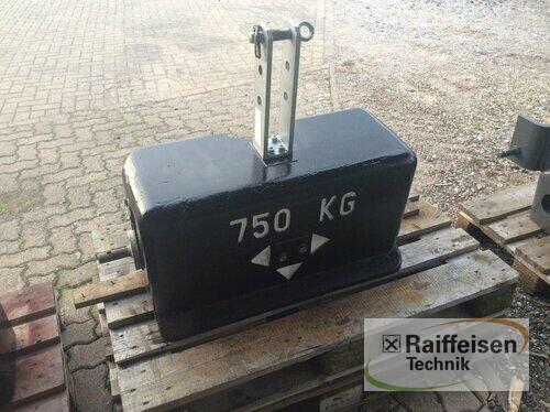 New Holland Frontgewicht 750 K Год выпуска 2011 Ilsede-Gadenstedt