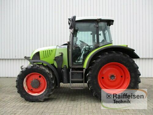 Claas Ares 577 ATZ Año de fabricación 2007 Accionamiento 4 ruedas