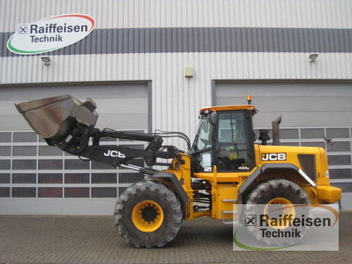 JCB Radlader Typ 434 S-Agri Rok výroby 2012 Holle