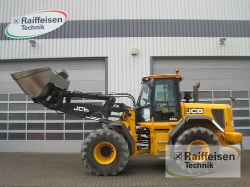 JCB Radlader Typ 434 S-Agri Year of Build 2012 Holle
