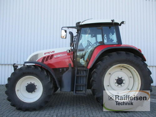Steyr 6190 Cvt Year of Build 2005 4WD
