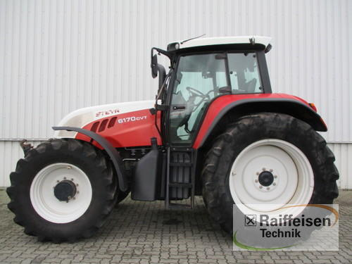 Steyr 6170 Cvt Year of Build 2006 Holle