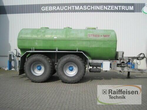 Streumix Drehkolbentankwagen 18.500 Ltr Byggeår 2012 Holle
