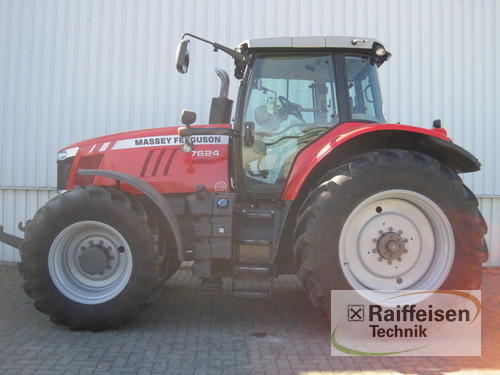 Massey Ferguson MF 7624 Dyna-VT Exclusive Baujahr 2013 Holle