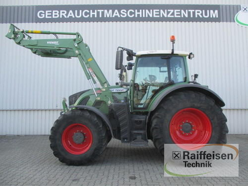 Fendt 724 Vario S4 Profi Plus Front Loader Year of Build 2015