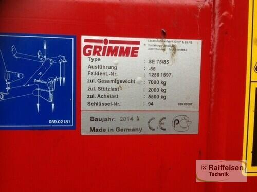 Grimme Se 75-55 Sb Baujahr 2014 Beedenbostel