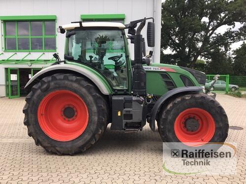 Fendt 724 Vario S4 Profi Plus Baujahr 2016 Tülau-Voitze