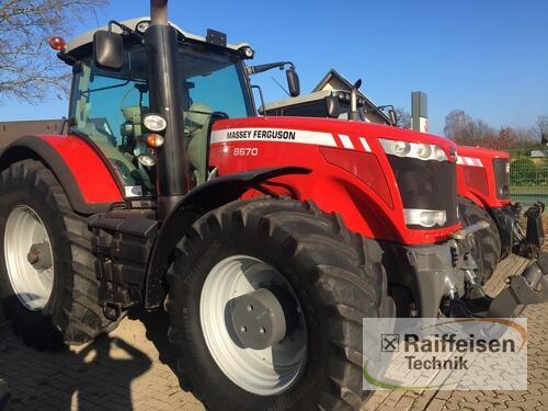 Massey Ferguson 8670 Dyna-Vt Baujahr 2014 Tülau-Voitze