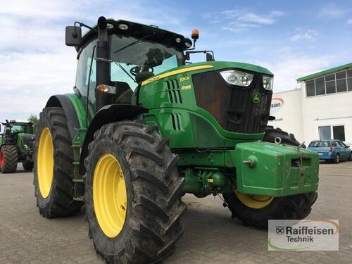 John Deere 6210R Anul fabricaţiei 2012 Tracţiune integrală 4WD