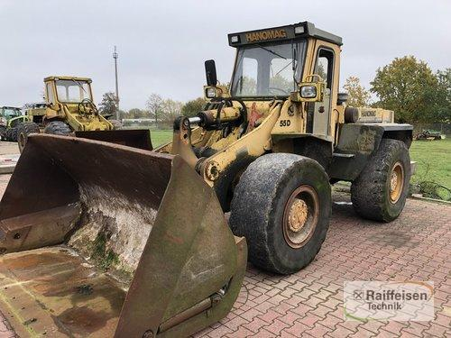 Hanomag Radlader 55D