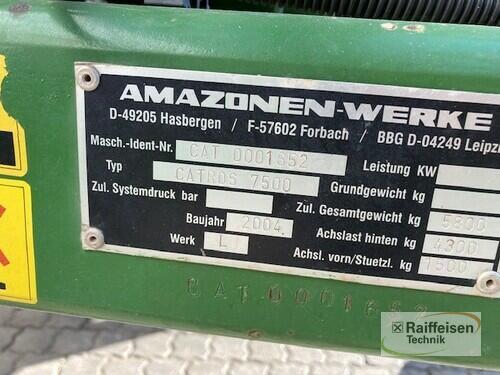Amazone Scheibeneggen Anul fabricaţiei 2004 Bad Langensalza