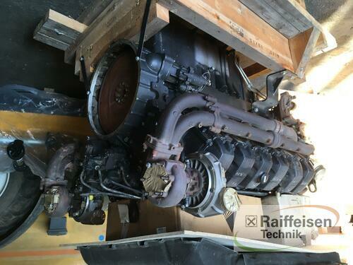 MAN 12 Zylinder Motor Elmenhorst-Lanken