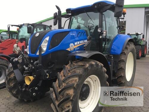 New Holland T7.210 Powercomman Frontlader Baujahr 2018