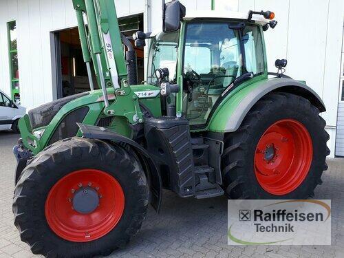 Fendt 714 Vario SCR Profi Plus Ladowarka przednia Rok produkcji 2012