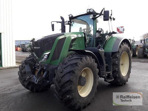 Fendt 828 Vario S4 Profi Plus Årsmodell 2014 4-hjulsdrift