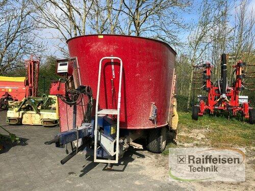 Mayer Siloking Futtermischwagen 12m³ anno di costruzione 2013 Lohe-Rickelshof