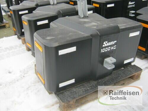 Suer Frontballast Sb 1000 Kg Rok výroby 2019 Husum